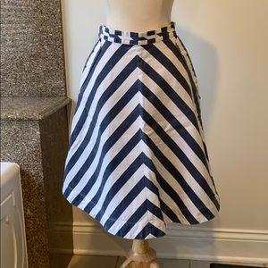 Striped summer skirt